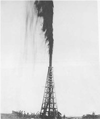 Spindletop Gusher