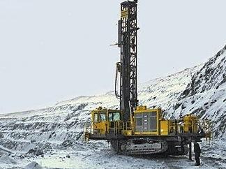 Atlas Copco Drilling Rig