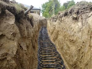Geothermal Horizontal Loop System