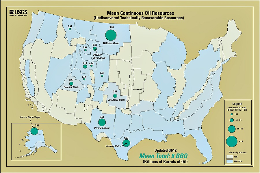 The Bakken Shale Is The Largest Continuous Reserve Ever Assessed By