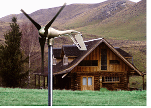 Wind Generator by a Home